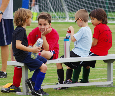 youth sports water break