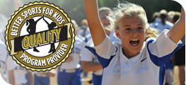 Better sports for kids quality program provider designation