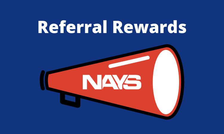 Two recreation departments benefit from NAYS Referral Rewards