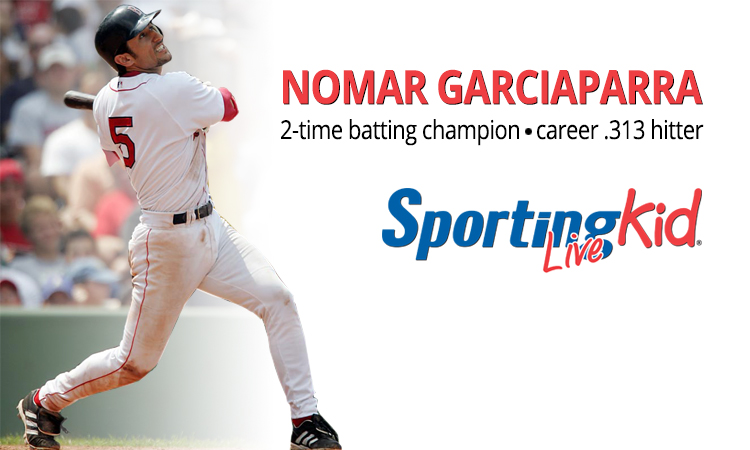 Hitting Help: Nomar Garciaparra offers up tips
