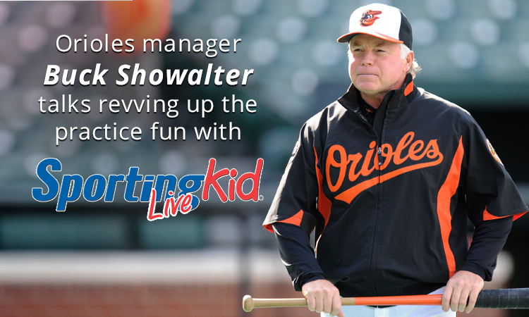 Baltimore Orioles manager Buck Showalter challenges YOU this season