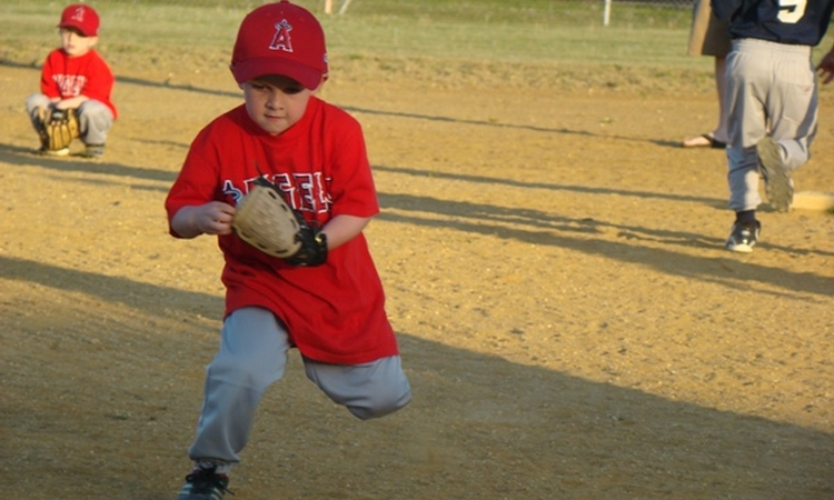 Setting a positive tone at the season's first T-ball practice