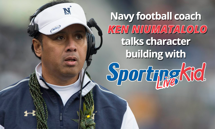 Coaching with a purpose: Navy's head coach on teaching life values