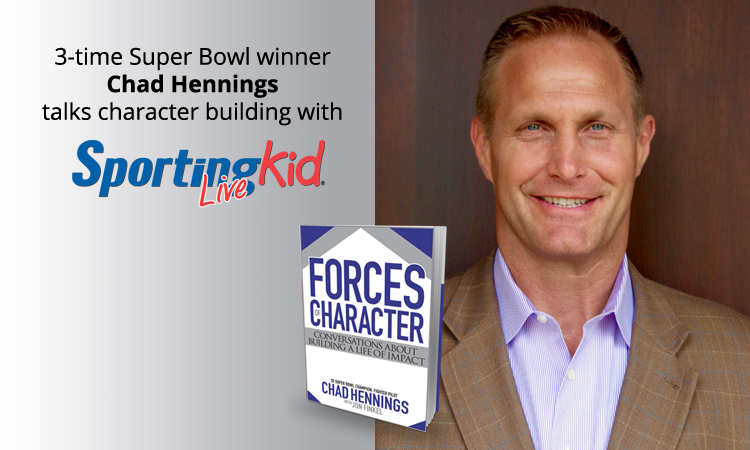 Cowboy great Chad Hennings on instilling character in young athletes