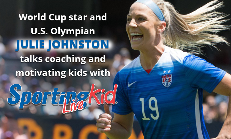 U.S. Olympian Julie Johnston on instilling a love of the game in kids