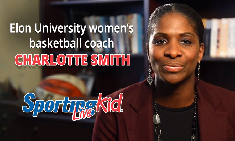 Building all-round players with NCAA legend and coach CHARLOTTE SMITH