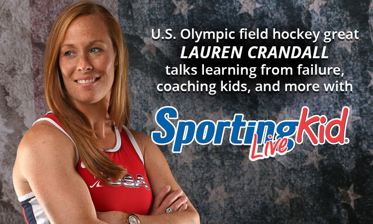 U.S. Olympian Lauren Crandall: Using failure to grow and excel
