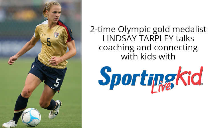 Golden insight: 2-time Olympic champ shares youth sports memories