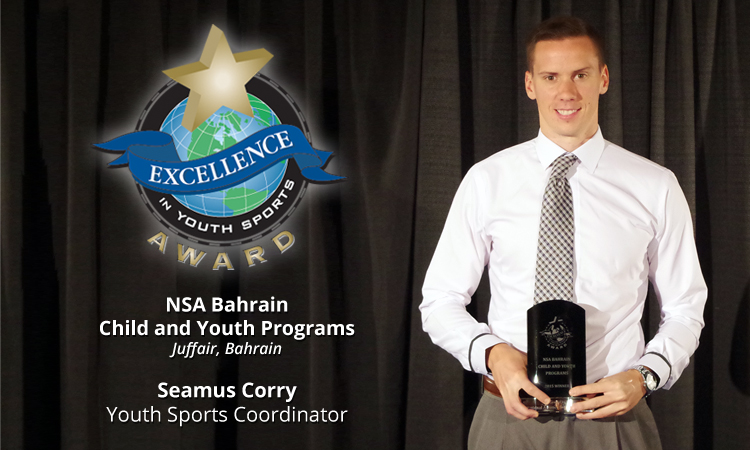 EXCELLENCE AWARD WINNER: NSA BAHRAIN CHILD AND YOUTH PROGRAMS