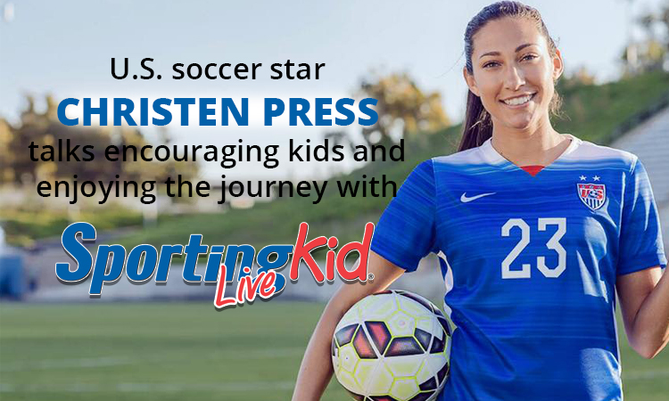 Put the journey first, says U.S. Olympian Christen Press