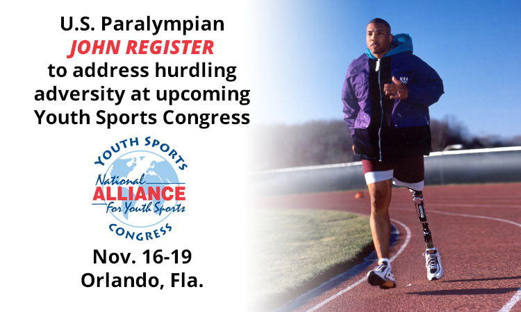 U.S. Paralympian to address hurdling adversity at upcoming Congress