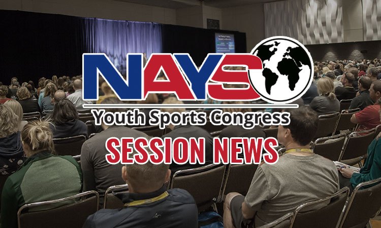 Congress session: Attacking youth sports issues