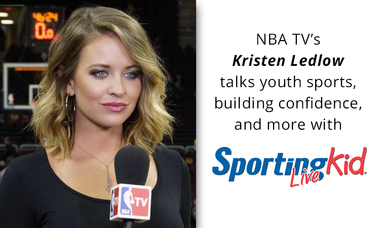 NBA TV's Kristen Ledlow shares her life-defining youth sports memories
