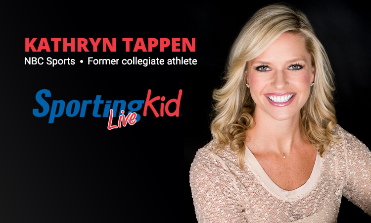 NBC Sports' Kathryn Tappen on the power of youth sports