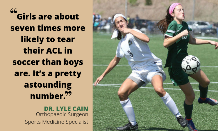Teen Trouble: ACL injuries on the rise for girls