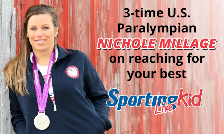 3-time Paralympian Nichole Millage on the true value of sports