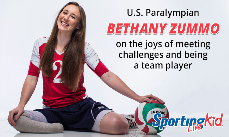 U.S. Paralympian Bethany Zummo on being a team player