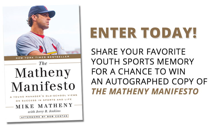 Enter now to win an autographed copy of The Matheny Manifesto