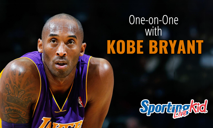 Kobe Bryant on helping young athletes stare down fear