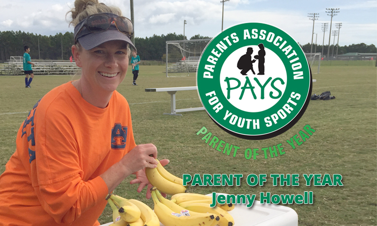 PAYS PARENT OF THE YEAR: JENNY HOWELL