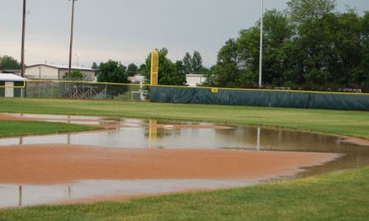 Maintaining youth baseball and softball fields