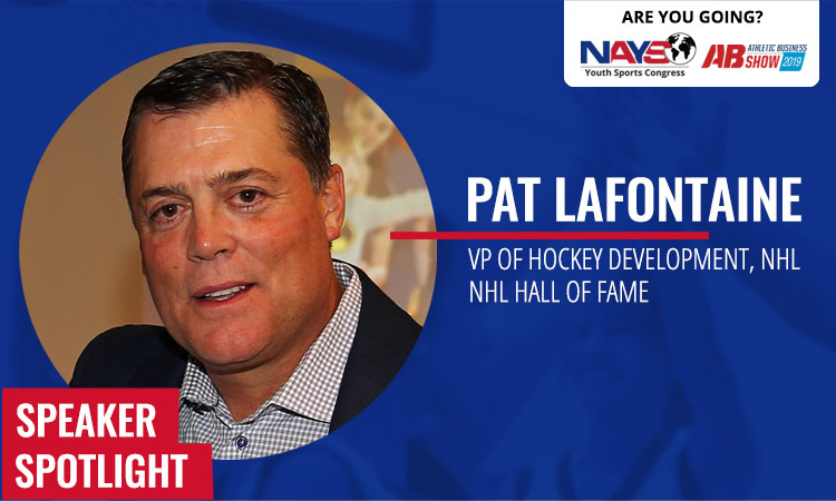 Congress Keynote: Hockey legend Pat LaFontaine
