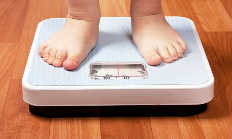 Even in young children: Higher weight = higher blood pressure
