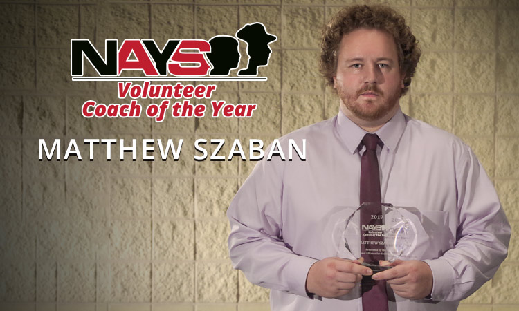 NAYS Volunteer Coach of the Year: Matthew Szaban