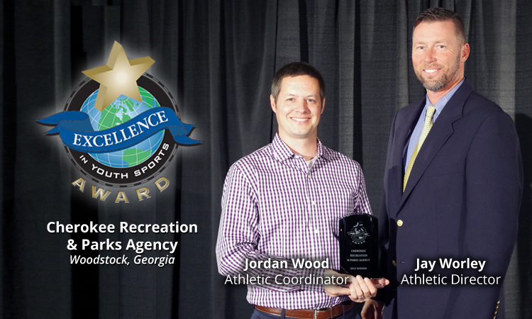EXCELLENCE AWARD WINNER: CHEROKEE RECREATION & PARKS AGENCY