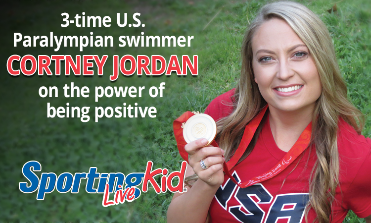 U.S. Paralympian Cortney Jordan on the power of positive